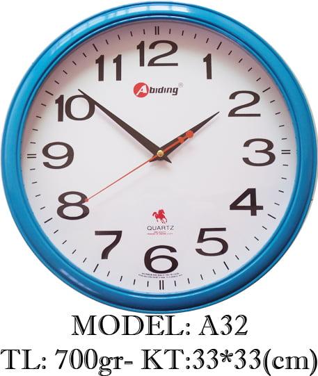 Đồng hồ treo tường A32