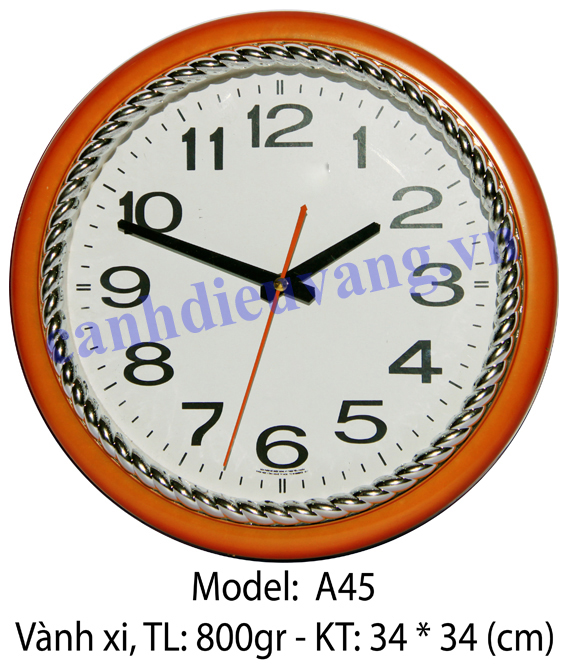 Đồng hồ treo tường A45