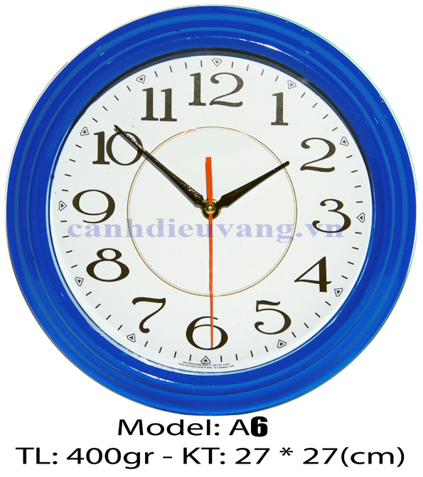 Đồng hồ treo tường A6