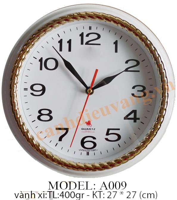Đồng hồ treo tường A009