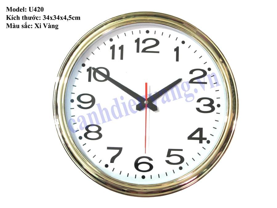 Đồng hồ treo tường B420
