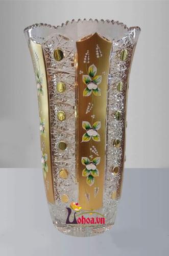 Lọ hoa pha lê tiệp LH17-1