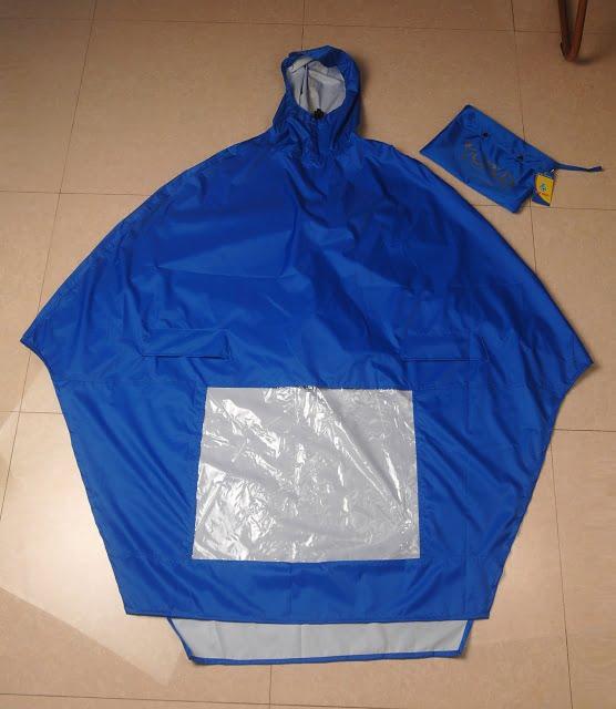 Áo mưa vải dệt 09