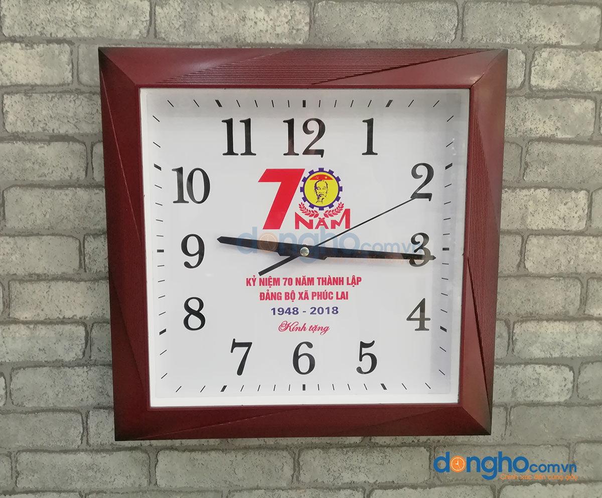Đồng hồ treo tường N36 nâu
