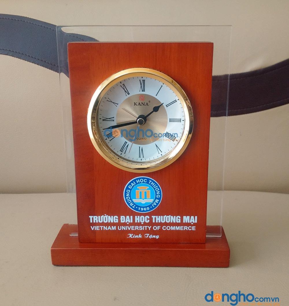 Đồng hồ để bàn gỗ BT1