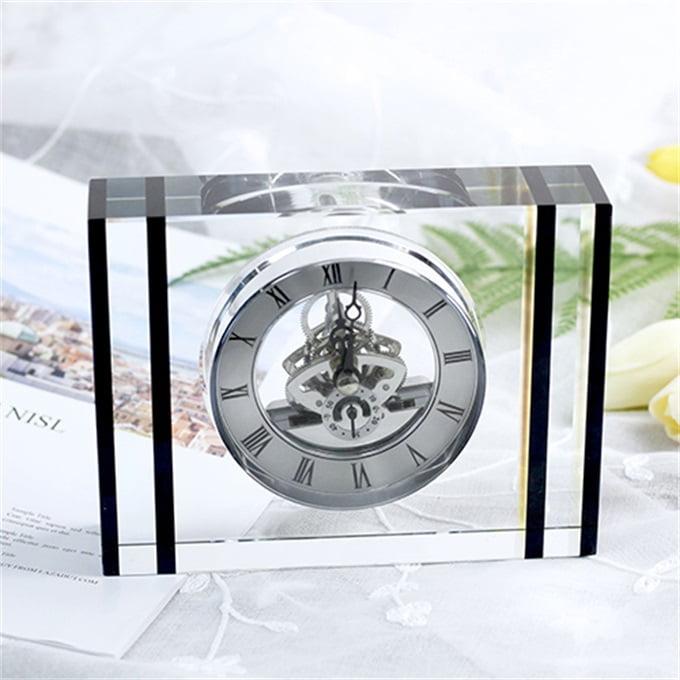 Đồng hồ pha lê để bàn 13