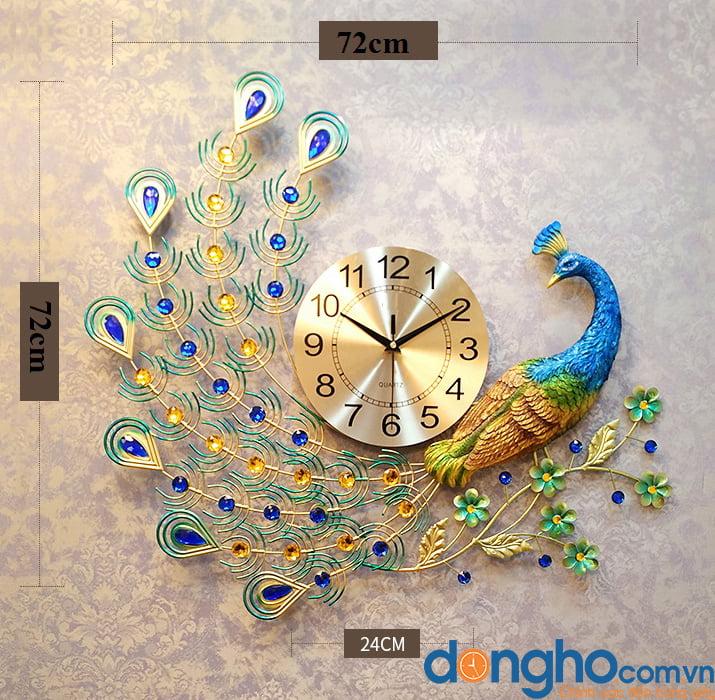 Đồng hồ chim công ĐH1518
