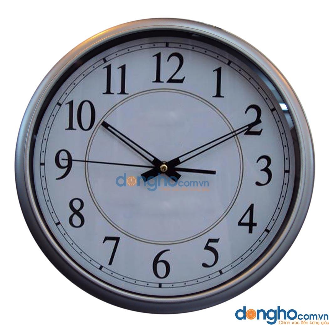 Đồng hồ treo tường N53 White