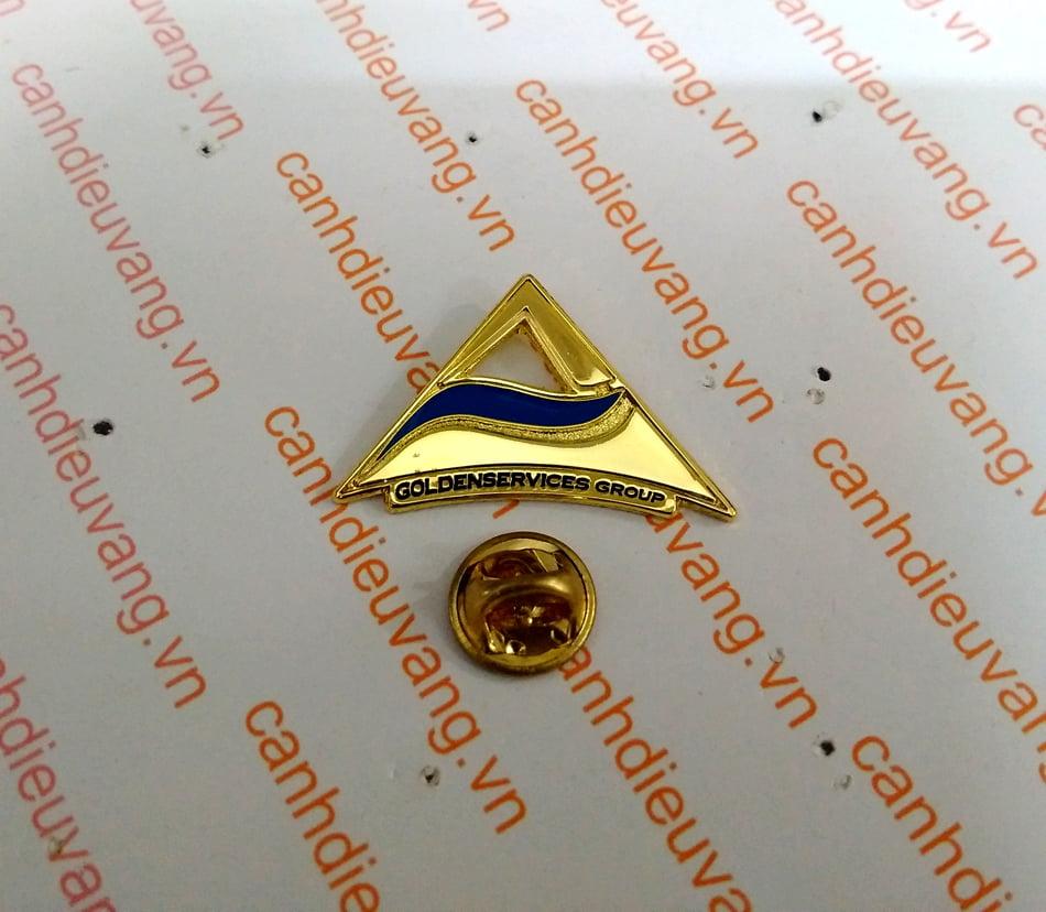 Huy hiệu đồng cài áo 33