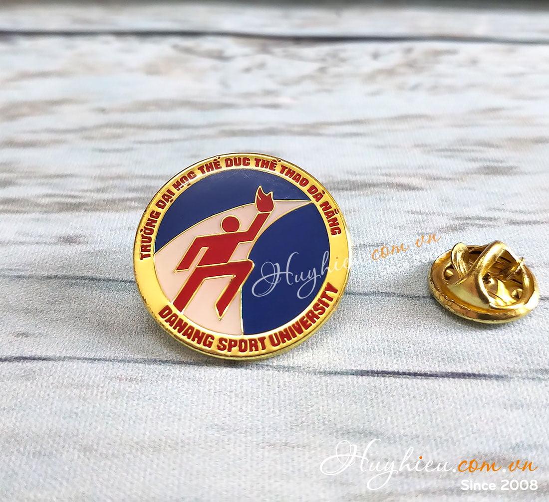 Huy hiệu đồng cài áo 55