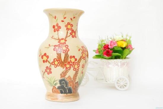 Lọ hoa gốm sứ GS07