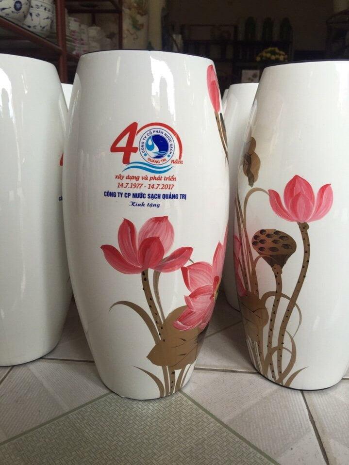 Lọ hoa gốm sứ GS09