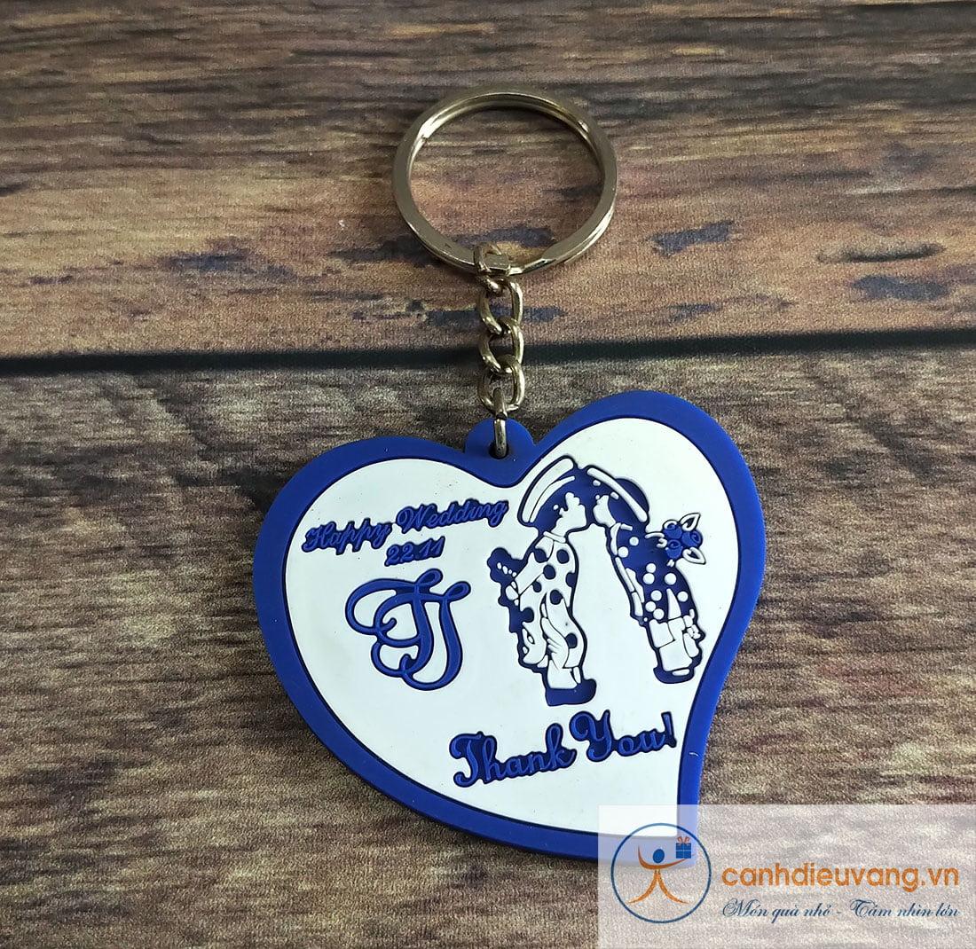 Móc chìa khóa cao su 16