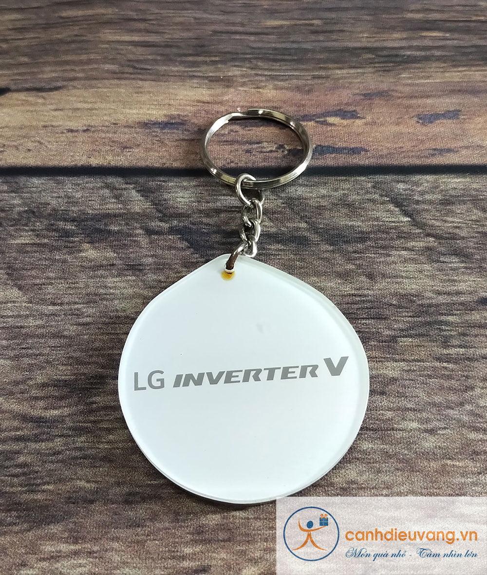 Móc chìa khóa mica 05