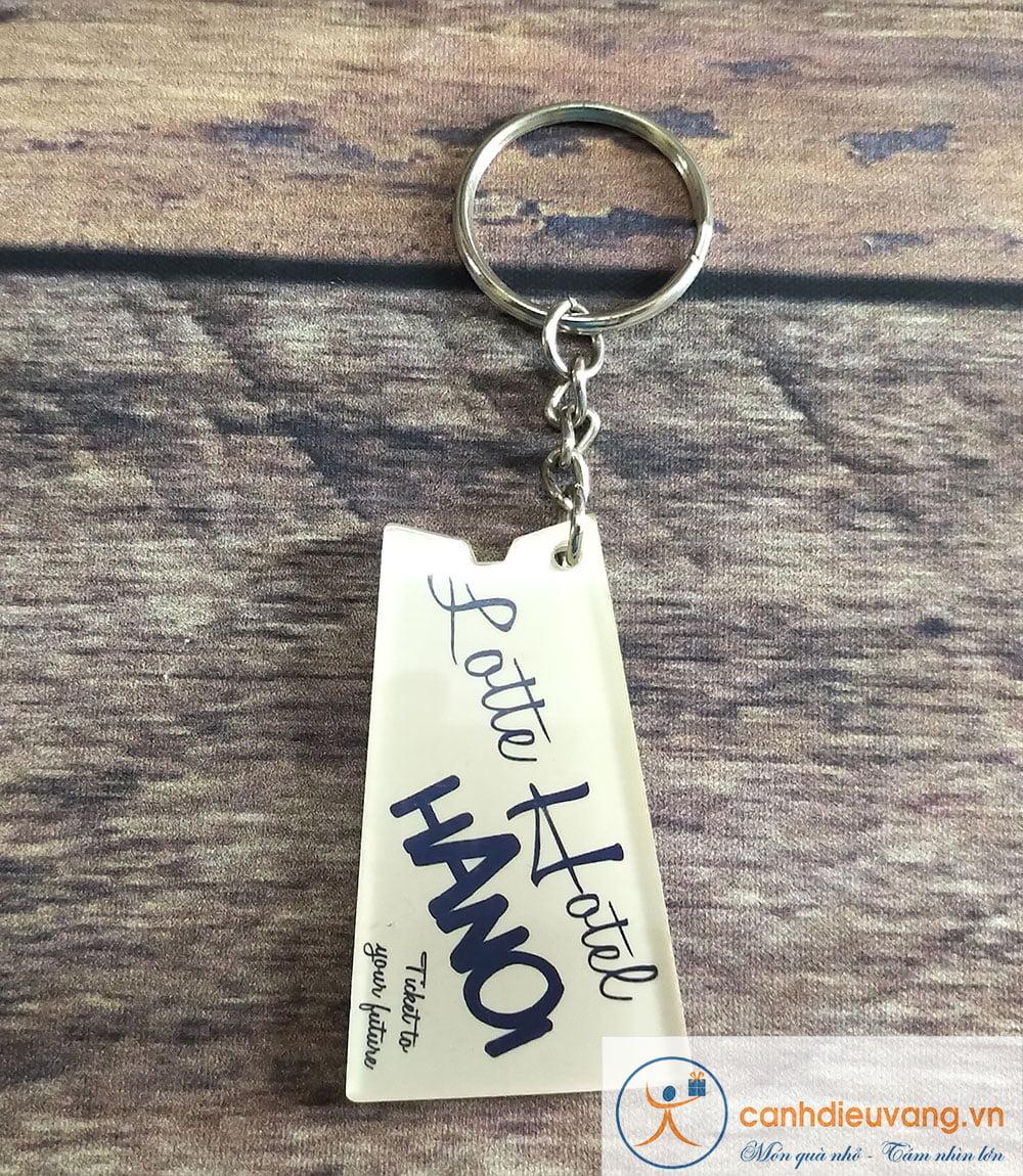 Móc chìa khóa mica 62