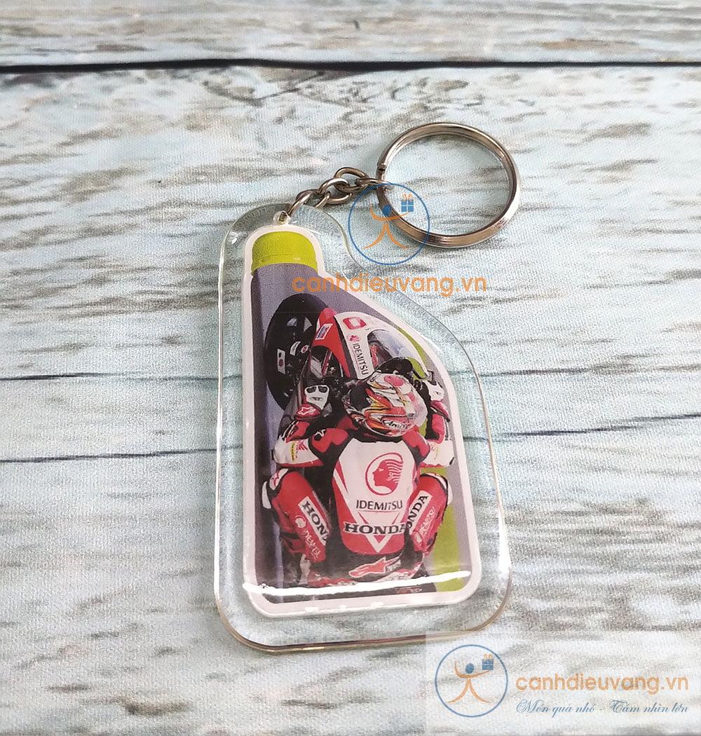 Móc chìa khóa nhựa dẻo 11