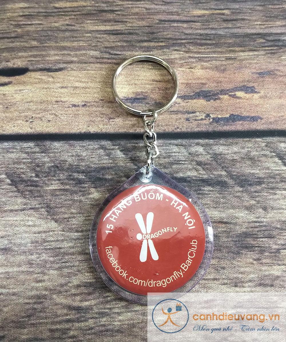 Móc chìa khóa nhựa dẻo 64