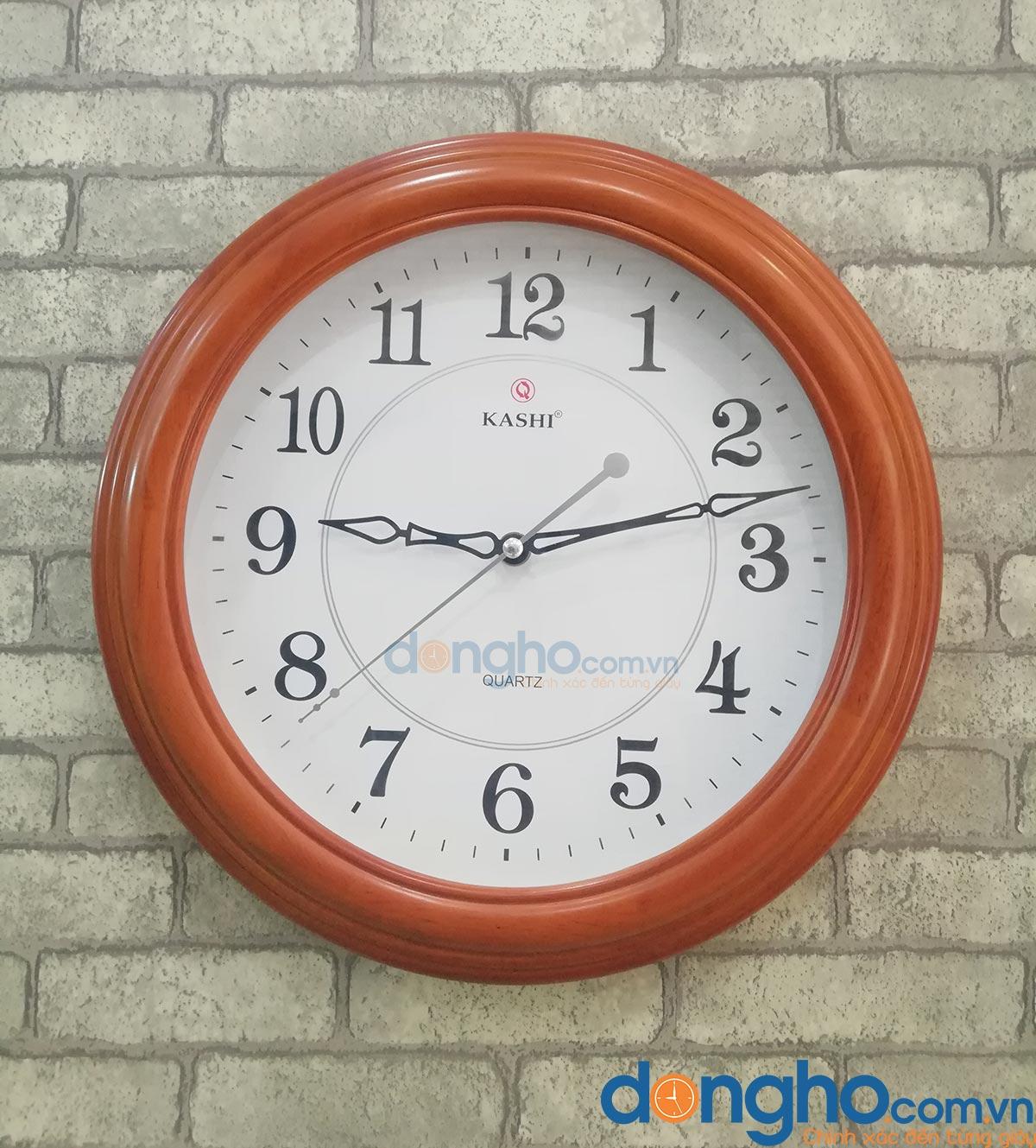 Đồng hồ treo tường gỗ KN14
