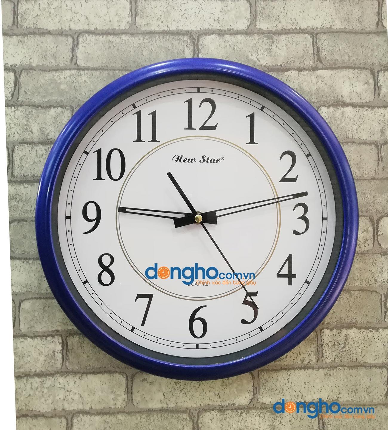 Đồng hồ treo tường N53 Blue