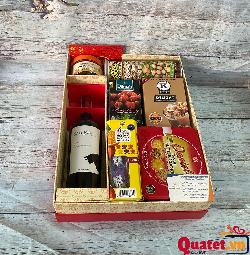 Hộp quà tết QT835