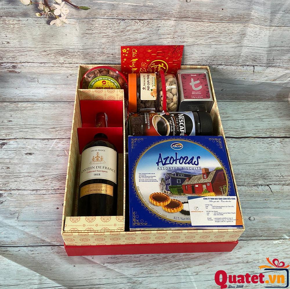 Hộp quà tết QT839