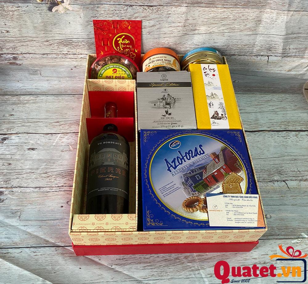 Hộp quà tết QT852