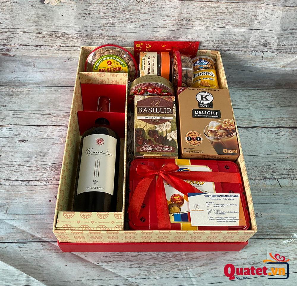 Hộp quà tết QT857