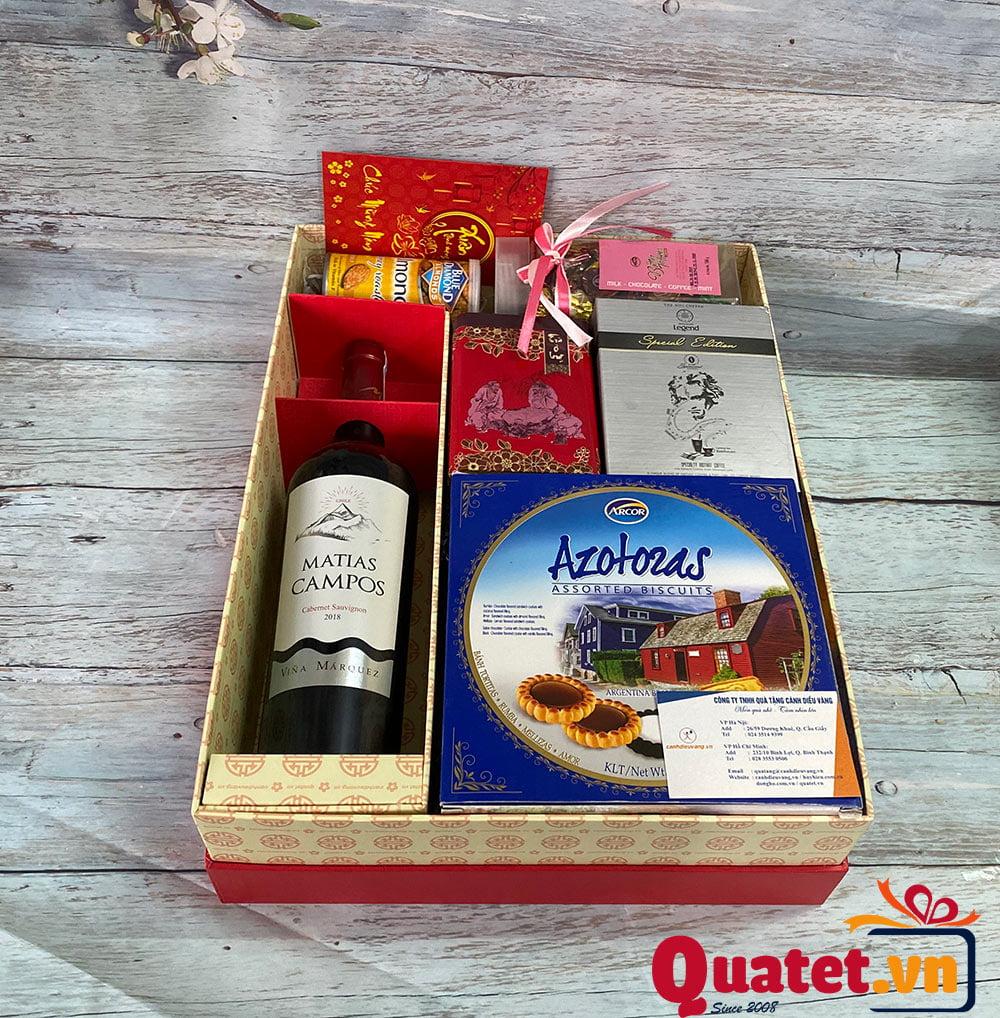 Hộp quà tết QT870