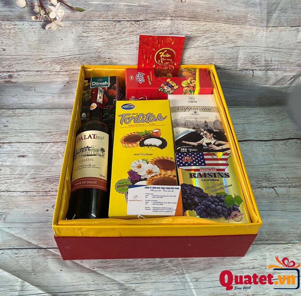 Hộp quà tết QT880