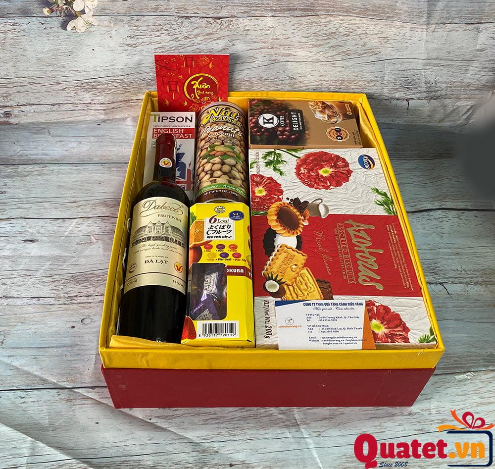 Hộp quà tết QT883