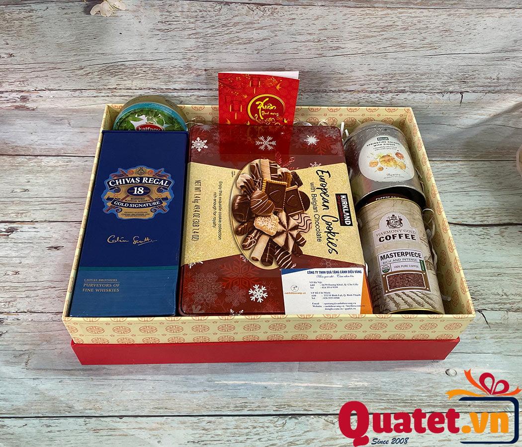 Hộp quà tết QT907