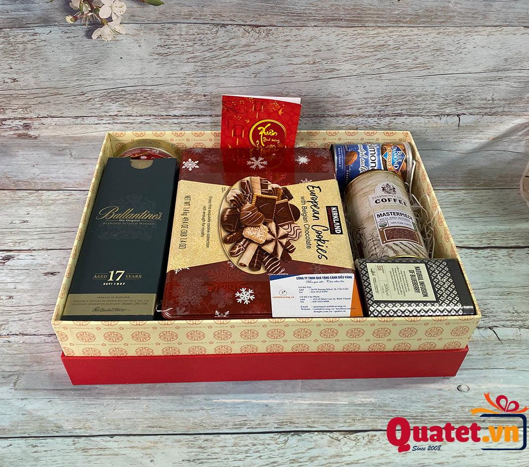 Hộp quà tết QT908
