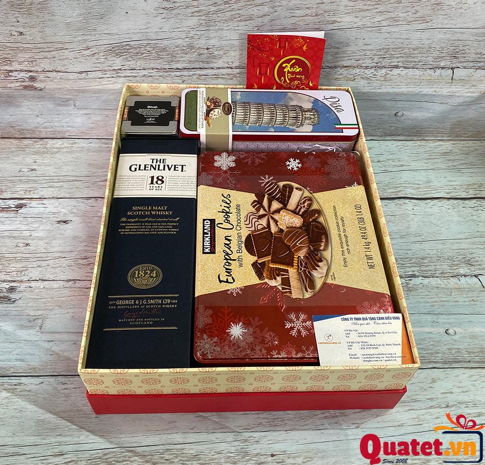 Hộp quà tết QT909