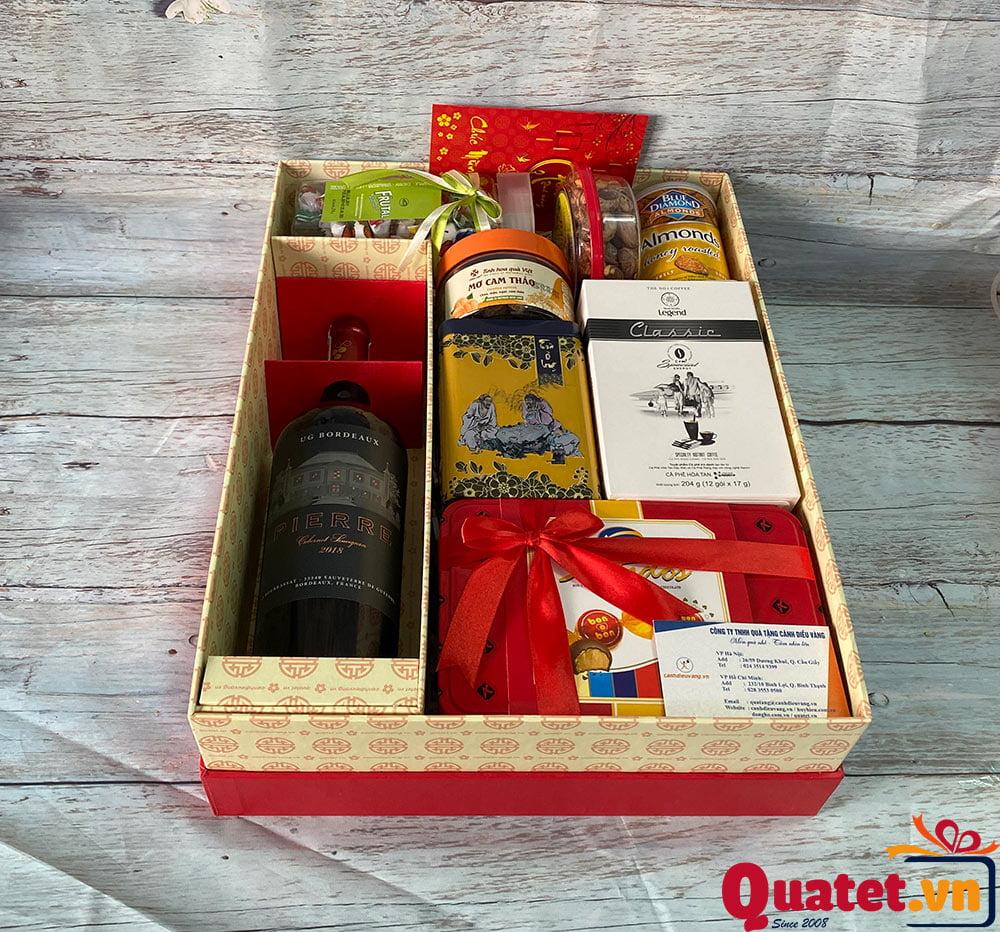 Hộp quà tết QT856