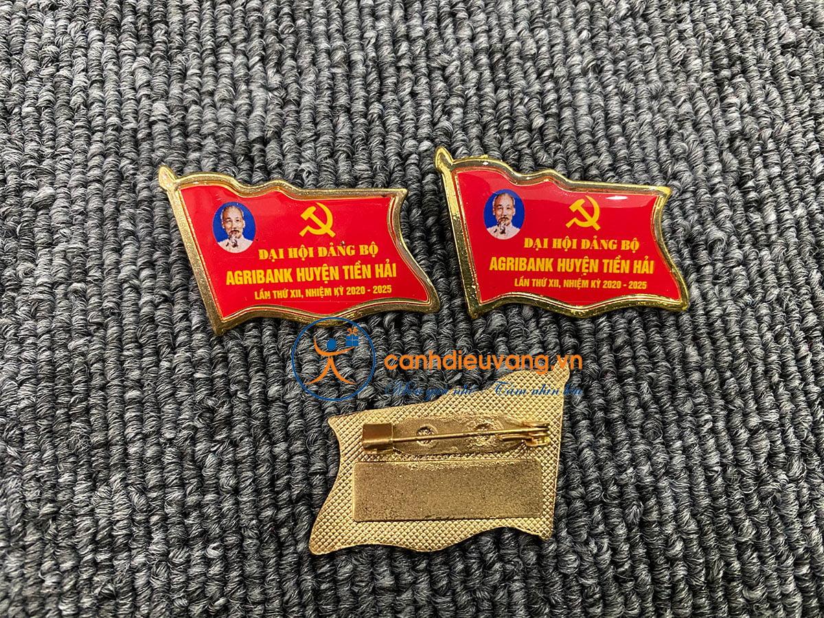 Huy hiệu lá cờ 03