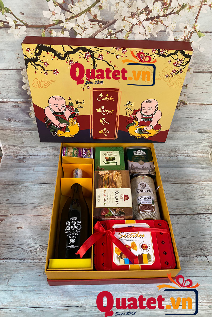 Hộp quà tết QT02