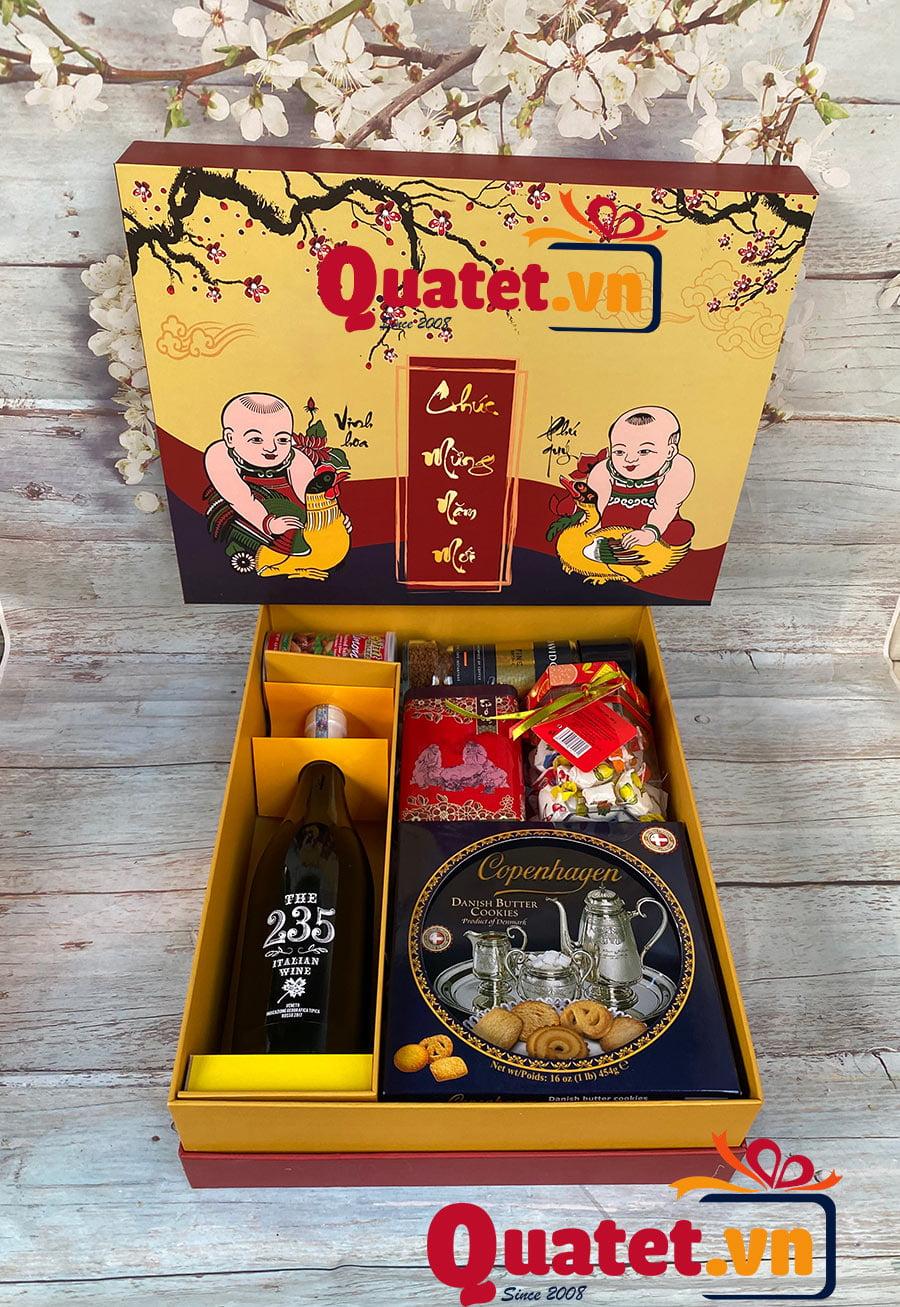 Hộp quà tết QT03