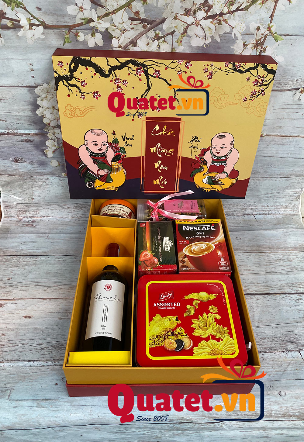 Hộp quà tết QT09