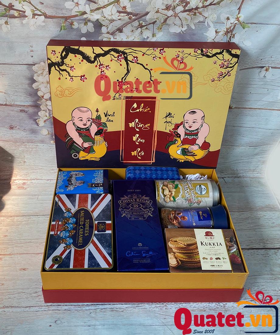 Hộp quà tết QT105