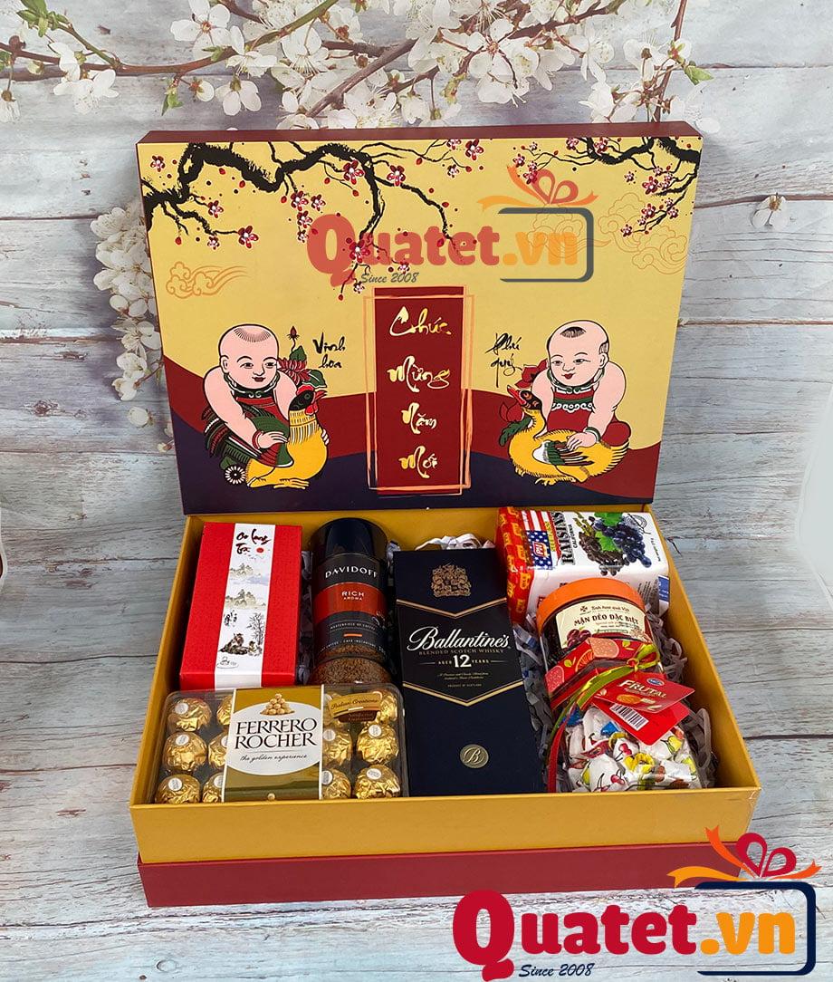 Hộp quà tết QT90
